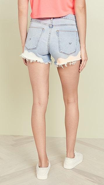 Hudson Gemma 中腰超短裤