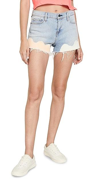 Hudson Gemma Midrise Cutoff Shorts