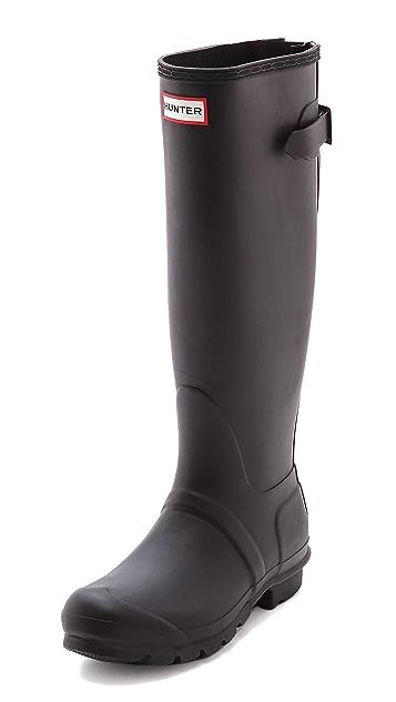 Hunter Boots Original Back Adjustable Boots