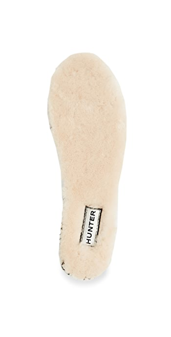 Hunter Boots Luxury Shearling Insoles - Natural