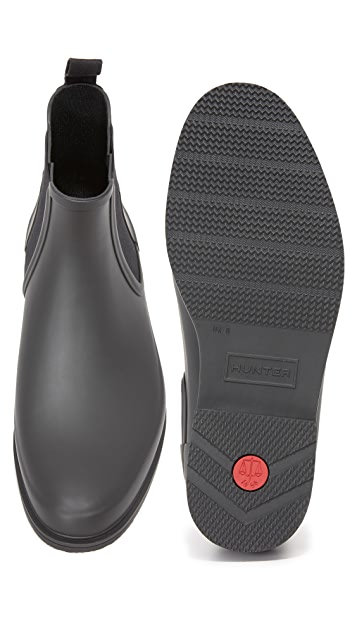 Hunter Boots Original Refined Rubber Chelsea Boots
