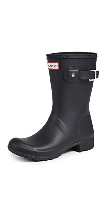 Hunter Boots Original Tour Short Boots - Black
