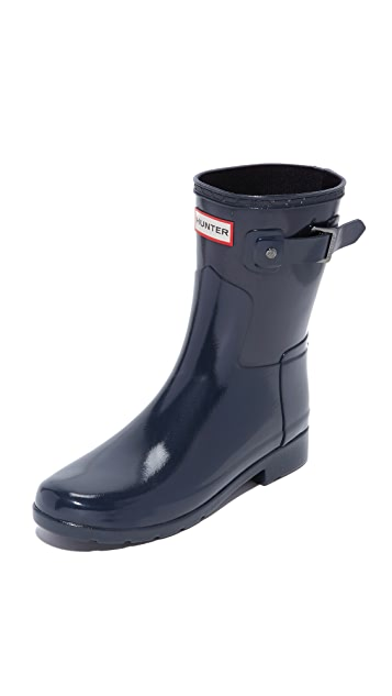 Hunter Boots Original Refined Gloss Short Boots