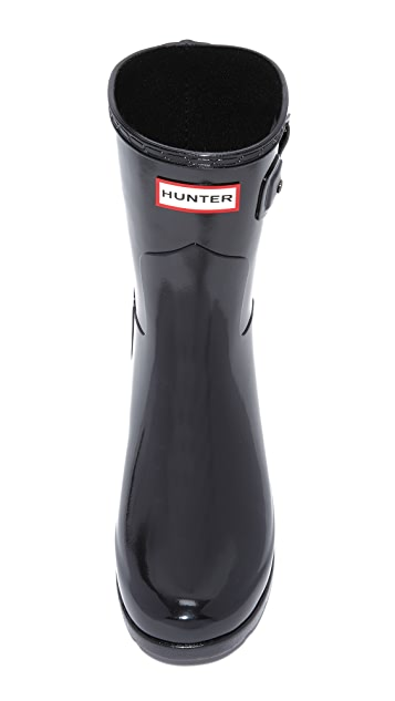 Hunter Boots Original Refined Short Gloss Boots