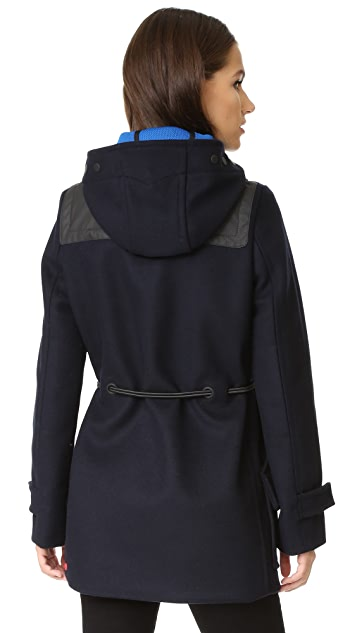 Hunter Boots Women's Original Bonded Wool Duffel Coat
