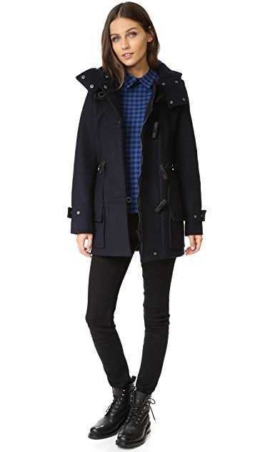 Hunter Boots Women's Original Bonded Wool Duffel Coat