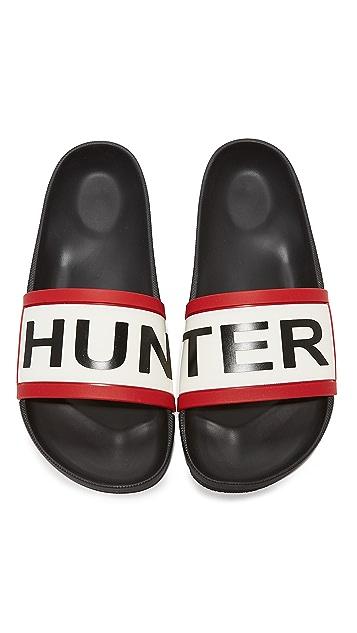 Hunter Boots Original Slides