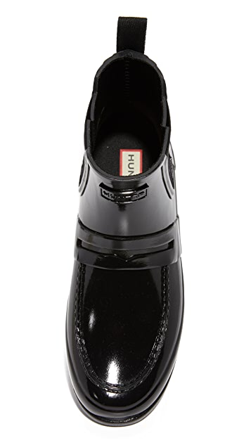 Hunter Boots Original Refined Penny Loafer Booties