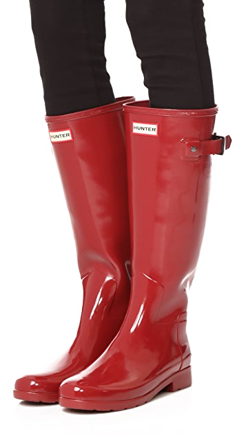 ... Hunter Boots Original Refined Gloss Boots ...