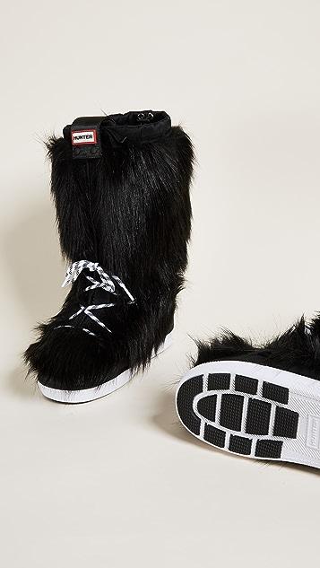 Hunter Boots Original Faux Fur Snow Boots
