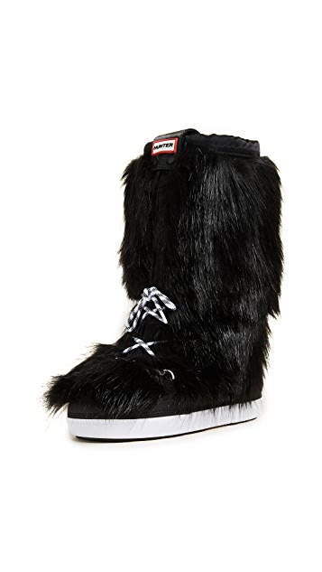 Hunter Boots Original Faux Fur Snow Boots