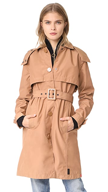 Hunter Boots Original Refined Trench Coat