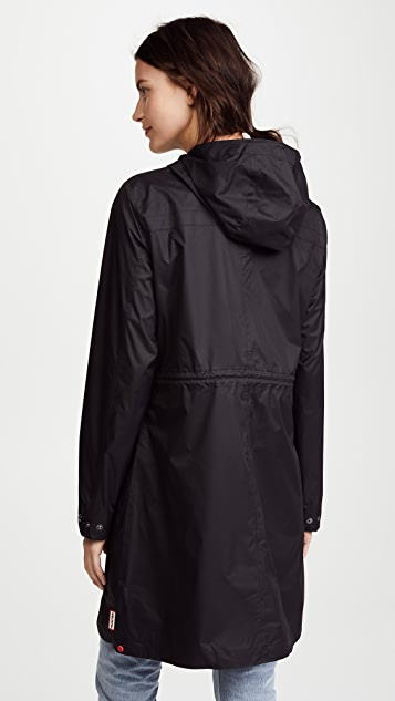 Hunter Boots Packable Drawstring Coat