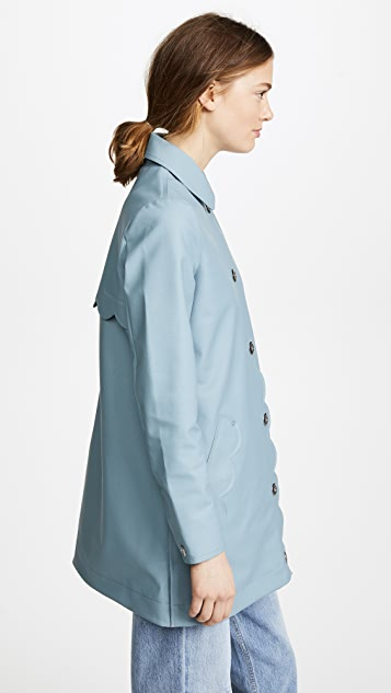 Hunter Boots Perforated A-Line Coat