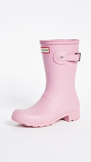 Hunter Boots Original Tour Short Boots - Blossom