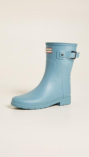 Hunter Boots Original Refined Short Boots - Soft Pine