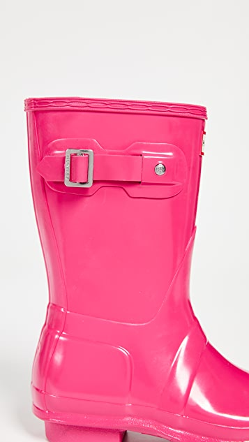 Hunter Boots Original Short Gloss Boots