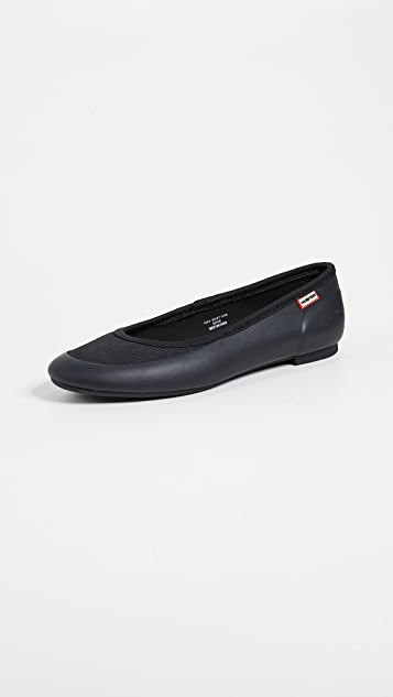 Hunter Boots Original Tour Ballet Flats