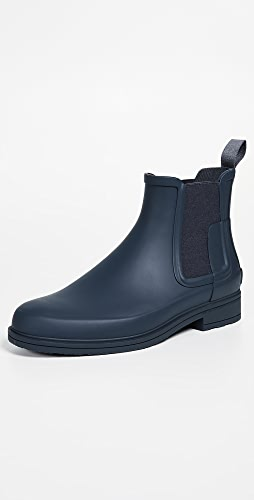 Hunter Boots - Original Refined Rubber Chelsea Boots