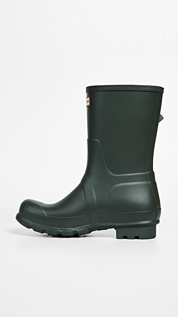 Hunter Boots Original Side Adjustable Short Boots