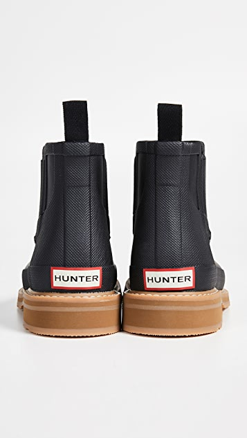 Hunter Boots Lightweight Mock-Toe Short Boots