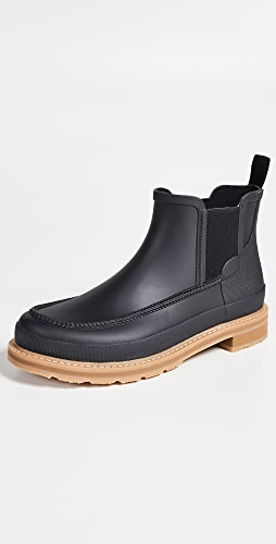 Hunter Boots - Lightweight Mocc Toe Short Boots