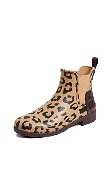 Hunter Boots Refined Chelsea Hybrid Print Boots
