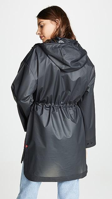 Hunter Boots Vinyl Oversized Raincoat