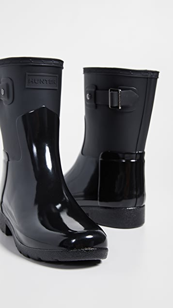 Hunter Boots Refined Short Gloss Duo Boots