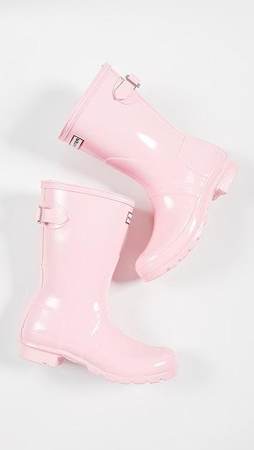 Hunter Boots Original Short Back Adjustable Boots