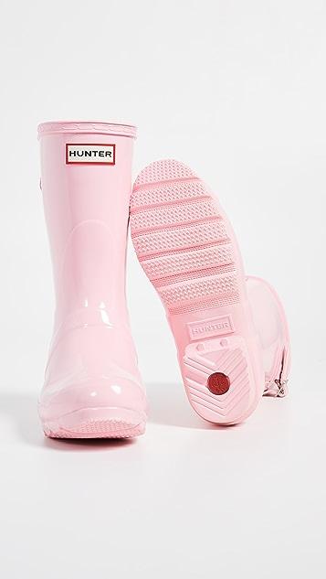 Hunter Boots Оригинальные короткие сапоги с регулировкой сзади