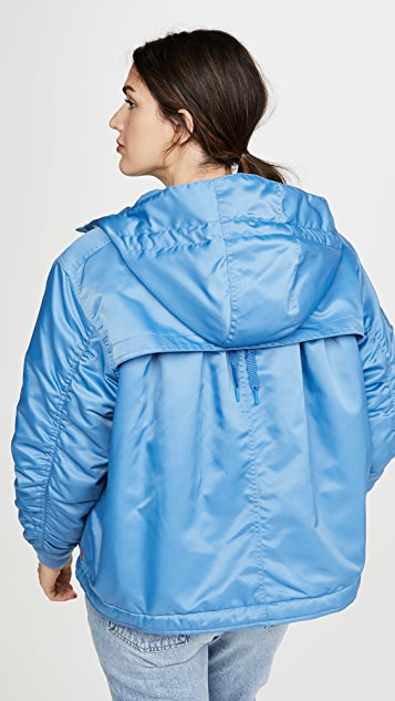 Hunter Boots Refined Insulated Drawstring Bomber