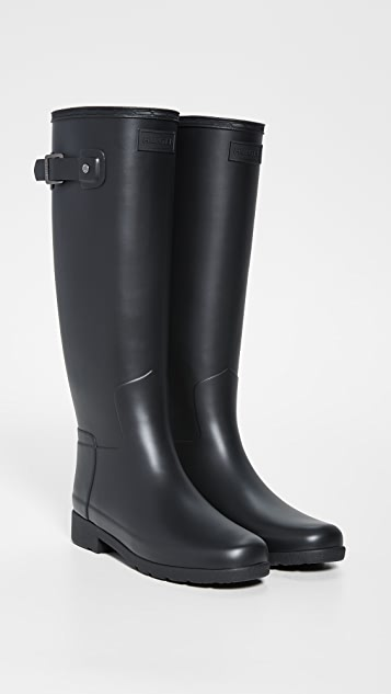 Hunter Boots Изящные высокие матовые сапоги