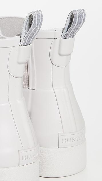 Hunter Boots Матовые ботинки челси Original Refined