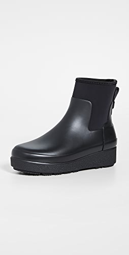 Hunter Boots - Refined Creeper Neo Chelsea Boots