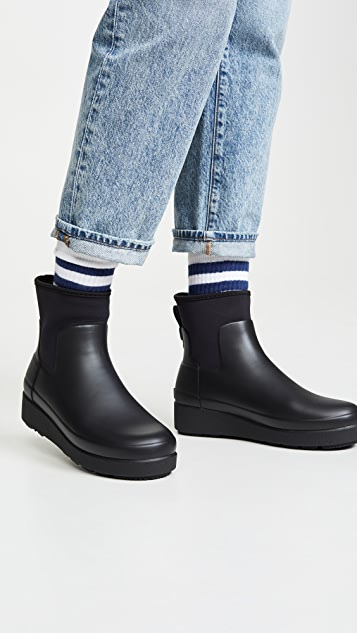 Hunter Boots Refined Creeper Neo 切尔西靴子