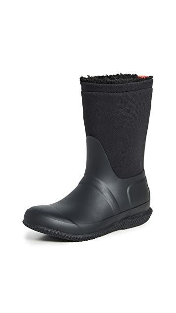 Hunter Boots Original Roll Top Sherpa Boots