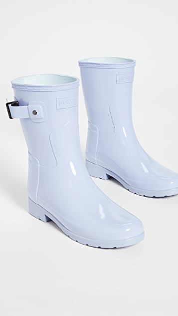 Hunter Boots Original Refined Short Gloss Boots