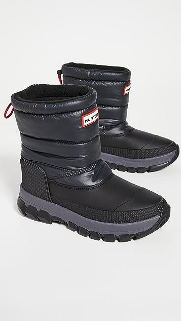 Hunter Boots 原创款保暖雪地短靴