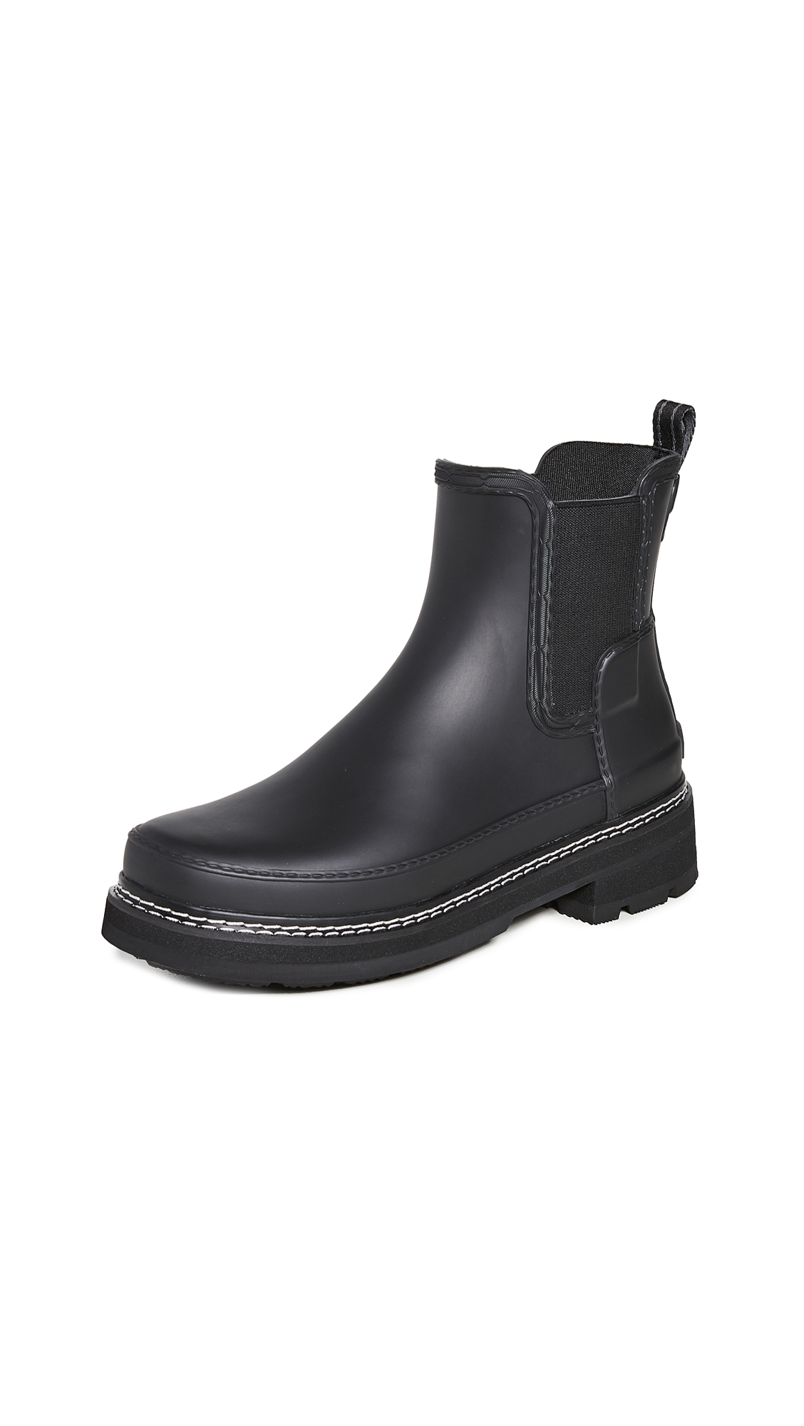 Hunter Boots Refined Chelsea Stitch Detail Wellington Boots