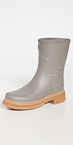 Hunter Boots - Refined Short Stitch Boots