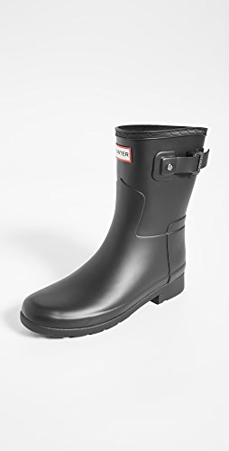 Hunter Boots - Refined Short Matte Boots