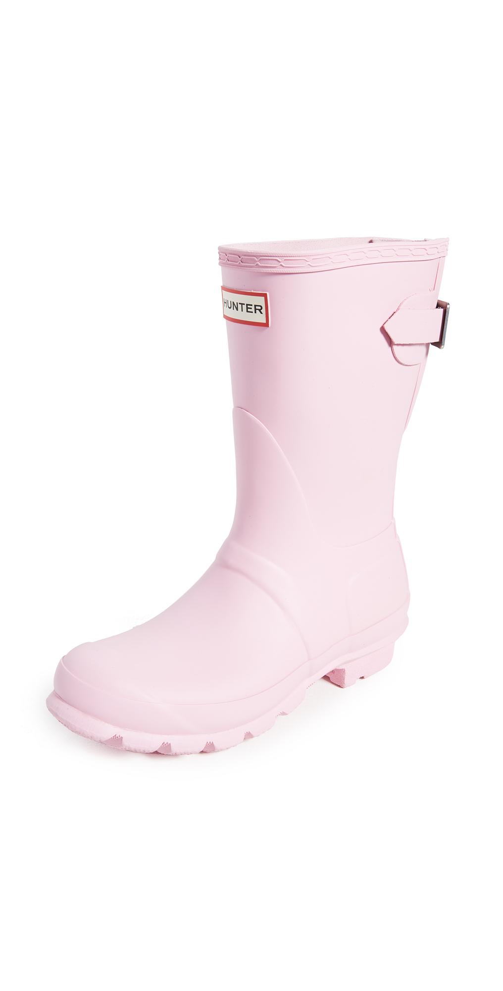 Hunter Boots Original Back Adjustable Matte Short Boots