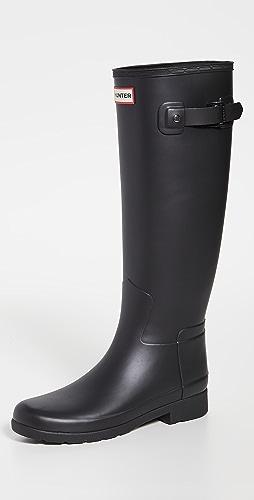 Hunter Boots - 精致哑光高筒靴