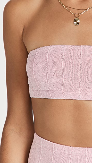 Hunza G Edie Nile Bikini Set