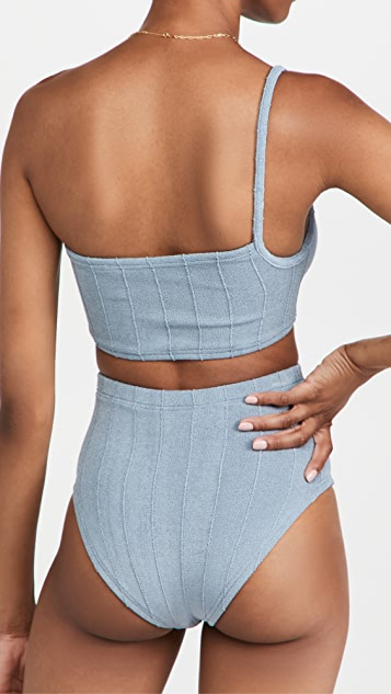Hunza G Maxime Nile Bikini Set