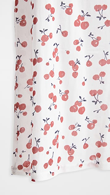 HVN Cherry Cover Up Dress
