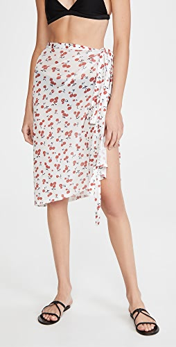 HVN - 网面裹身半身裙