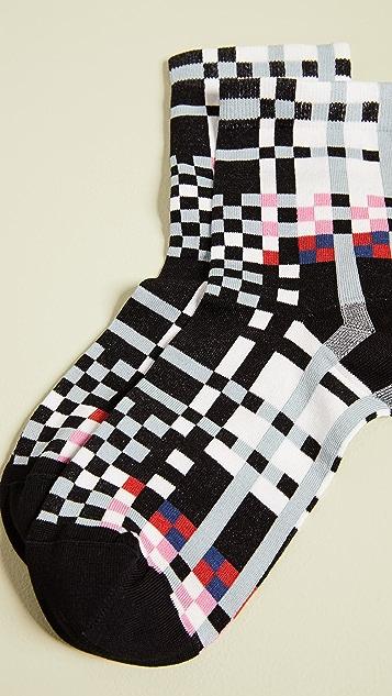 Hysteria Polly Ankle Socks