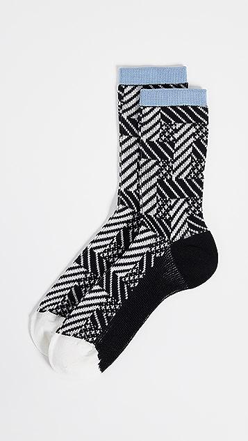 Hysteria Greta Crew Socks